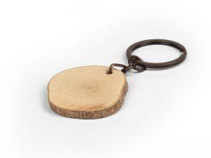 Drveni privezak za ključeve