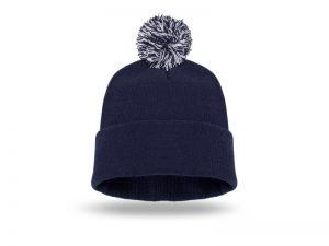 Zimska kapa sa kićankom, akril
