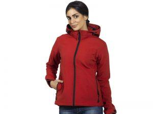 Ženska softshell jakna sa skidajućom kapuljačom