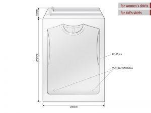 Kesa za pakovanje, dimenzije 20 x 30 cm