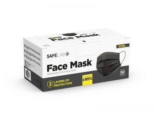 Zaštitna maska za jednokratnu upotrebu